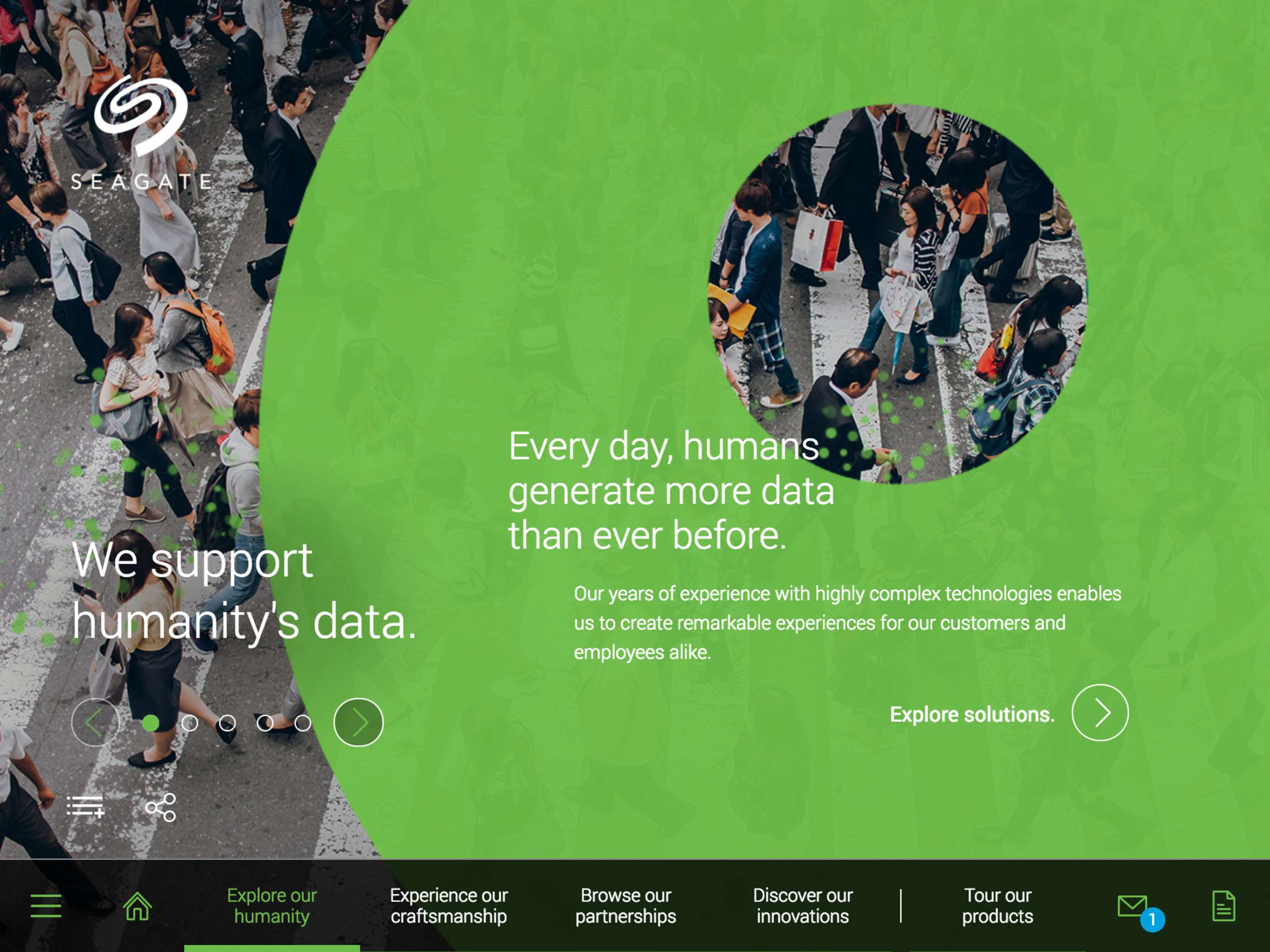 Seagate Datasphere Experience